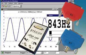 Low cost PC based oscilloscope