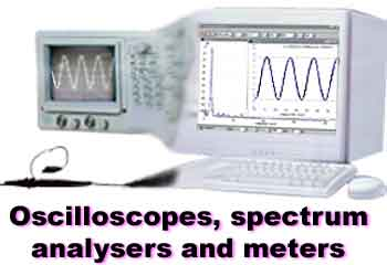 Transform you PC into an oscilloscope, spectrum analyser and meter